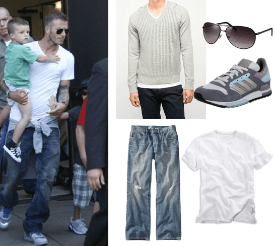 David-Beckham-Clothing David Beckham Casual Outfit Style - Celebrities Outfit Ideas