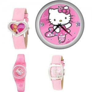 Hello-Kitty-Watches-For-Girls Trendy Pink Watches For Teen Girls and Kids