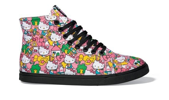 High Top Hello Kitty Sneakers