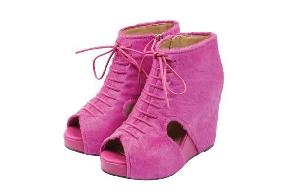Jeffrey Campbell Spring Summer 2011 Pink Fever Shoes
