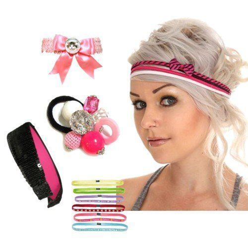 Pink Hair Accessories For Girls. Pink Fashion Accessories For Teens Girls