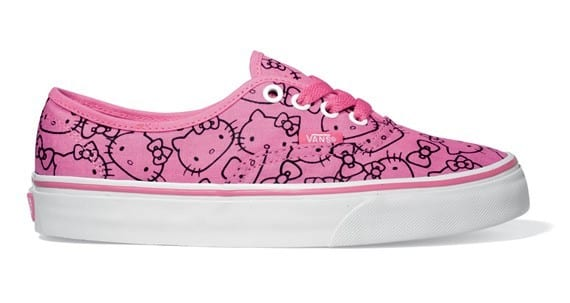 Pink Hello Kitty Sneakers