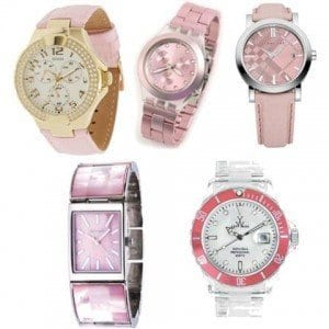 Pink-Watches-For-Teens-Girls Trendy Pink Watches For Teen Girls and Kids