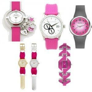 Pink-watches Trendy Pink Watches For Teen Girls and Kids