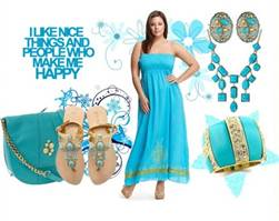Plus Size maxi for women