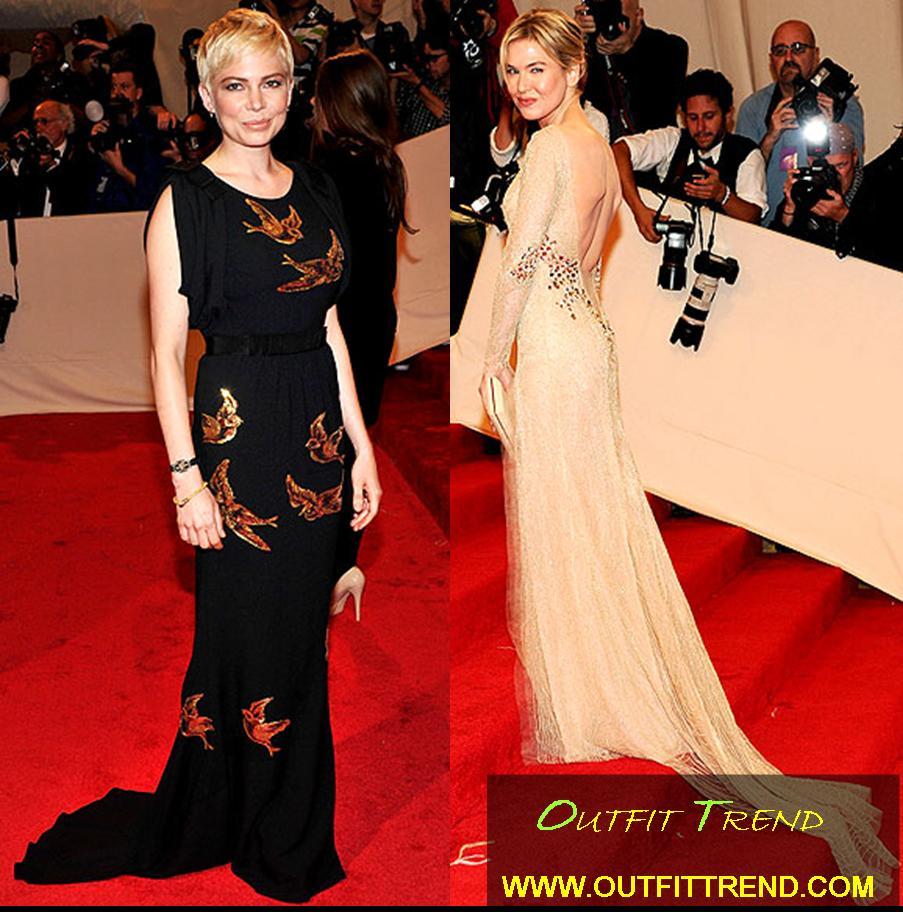 Sexy Dresses ar Met Gala2011