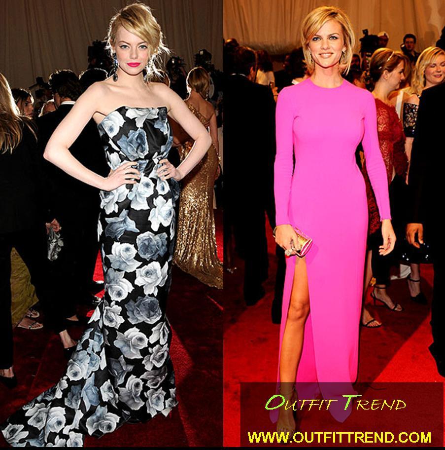 Stylish Dresses at Met Gala 2011