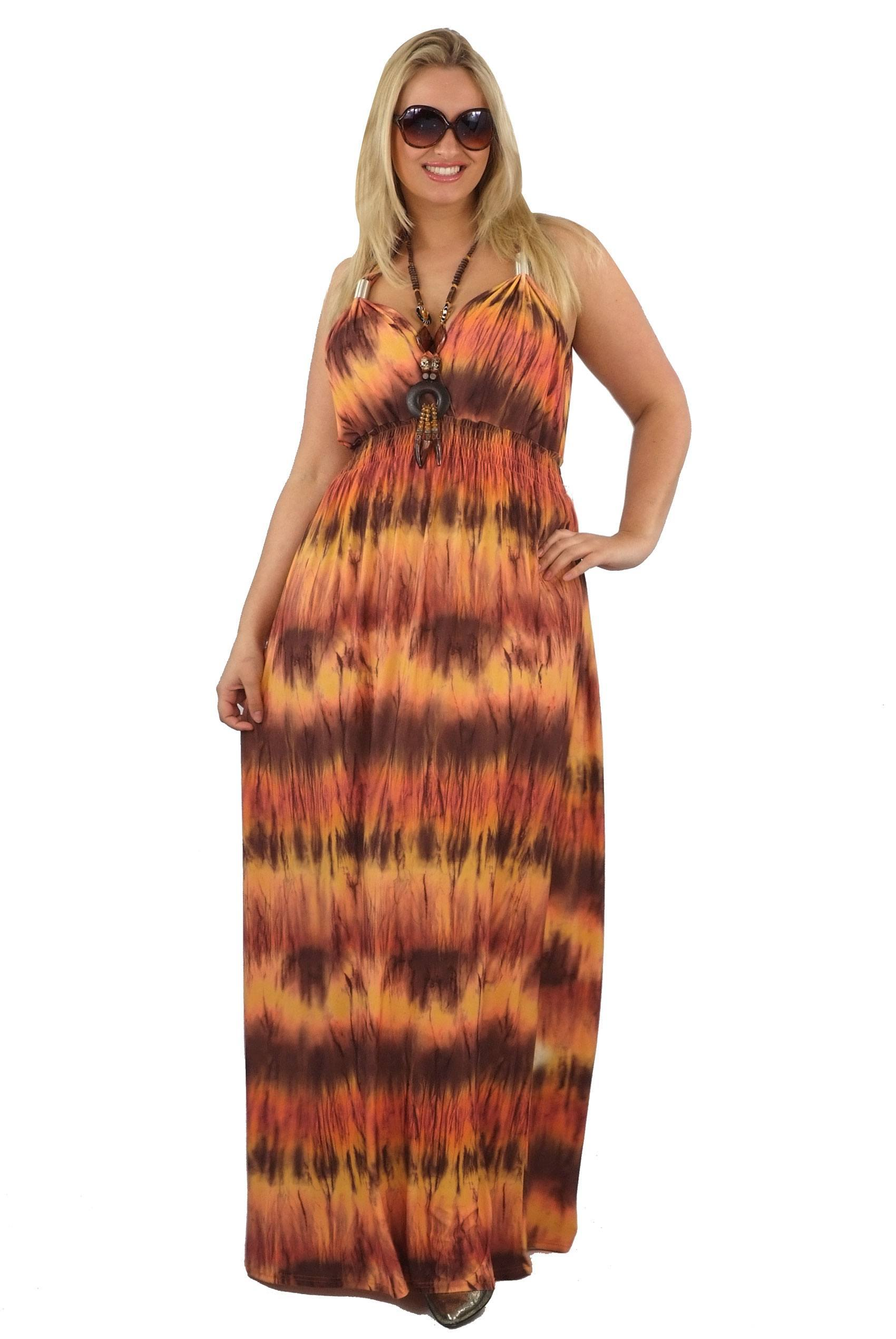 Stylish Maxi Dresses For Women Plus Size