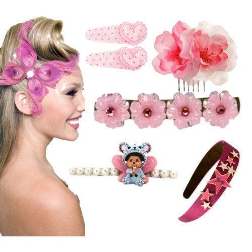 Teens-Girls-Hair-Accessories Pink Fashion Accessories For Teens Girls