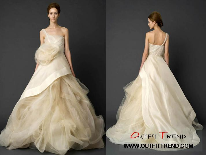 Trendy-Wedding-Gowns Vera Wang Spring 2012 Wedding Dresses collection