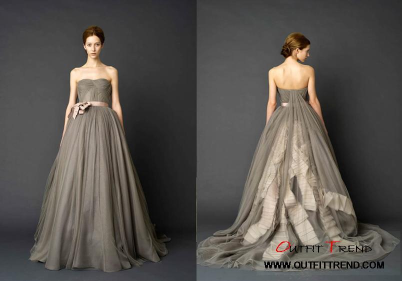 Vera-Wang-Bridal-Gown Vera Wang Spring 2012 Wedding Dresses collection