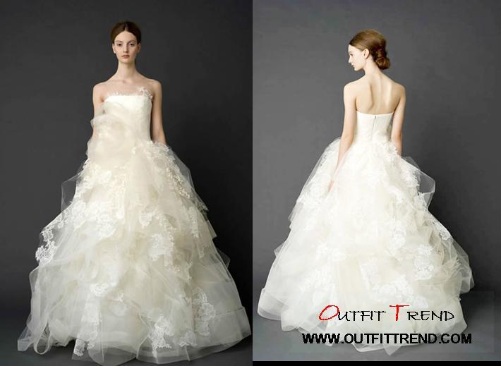 Vera-Wang-Wedding-Gowns-2012 Vera Wang Spring 2012 Wedding Dresses collection