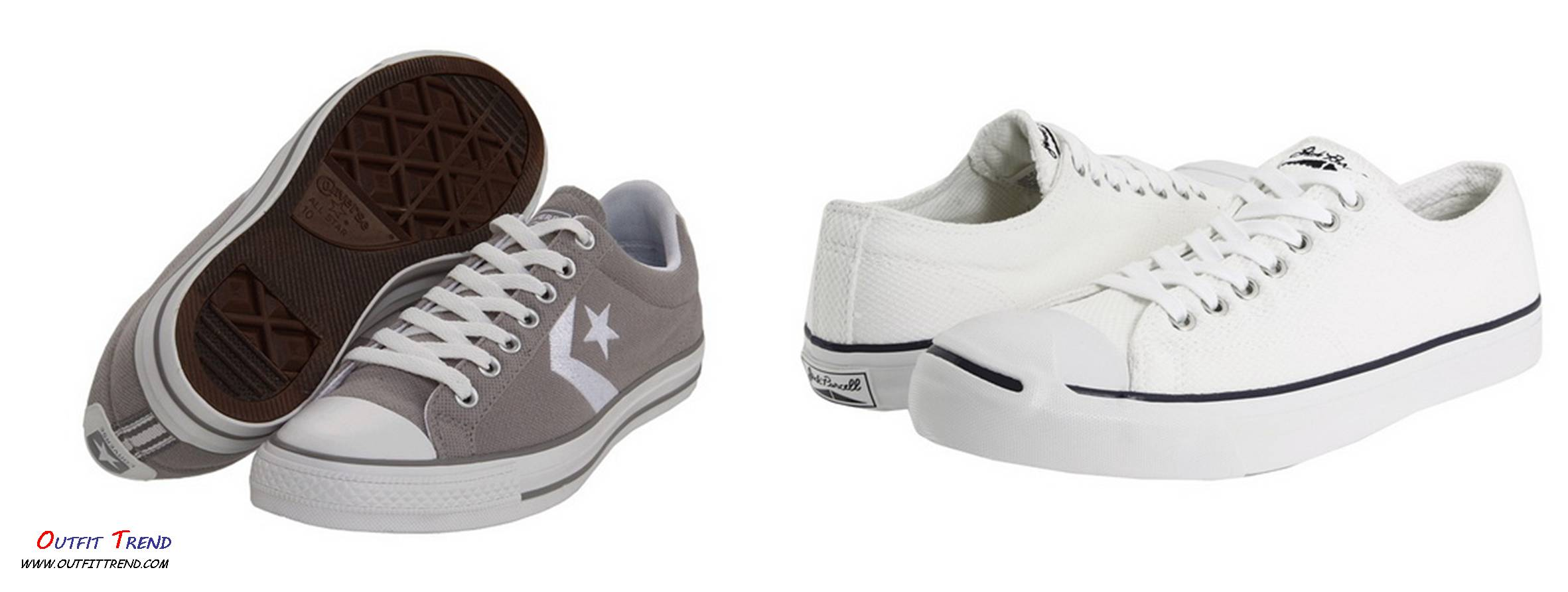 White-Converse-Sneakers Trendy Converse Chuck Taylor All Stars For Men Collection
