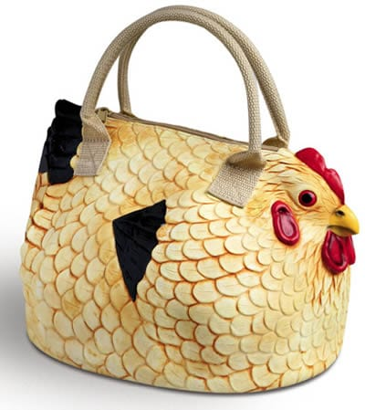 Chicken-Handbag 10 world most Creative and Strange Handbags/Purses Collection