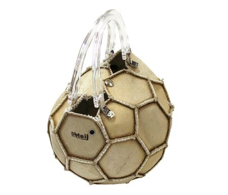 Football-Handbag 10 world most Creative and Strange Handbags/Purses Collection