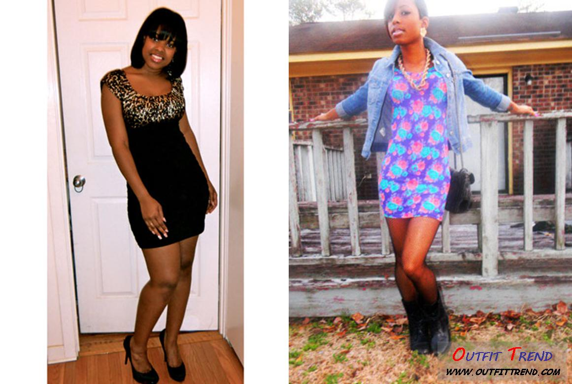 Trendy Party Outfit For Dark Complexion Girls