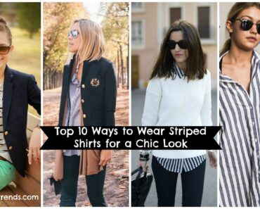 stripe shirts outfits for girls