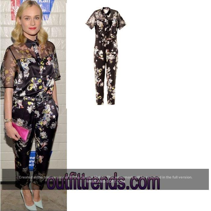 Diane Kruger Dressing