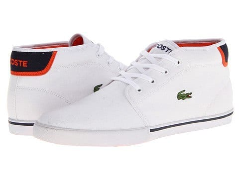Lacoste white shoes for men