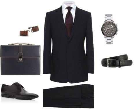Mens Job Interview Accessories