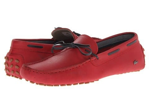 Red-Lacoste-Shoes Lacoste's Latest and Amazing Shoes Collection for Men