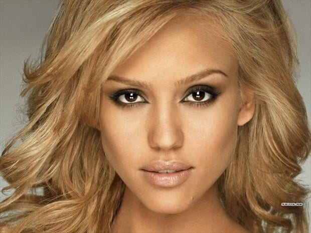 jessica alba eyes makeup