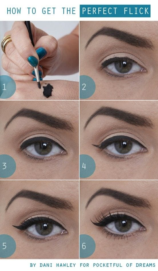 15 Simple And Cute Hairstyle Tutorials: 15 Easy And Stylish Eye Makeup Tutorials