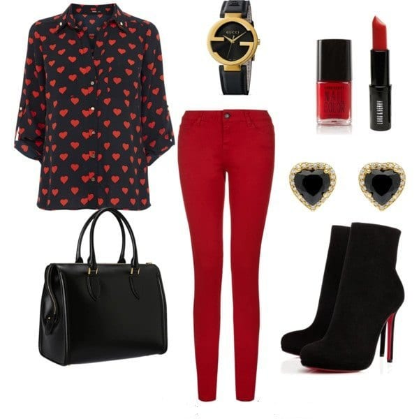 valentine-outfits-for-girls Top 20 Amazing Outfits Ideas For Valentine's Day 2018