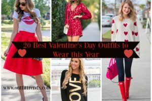 valentine's day outfits for girls 2017