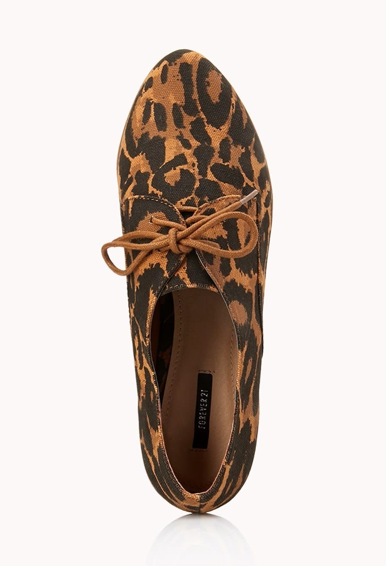 Animal Print Loafers for girls