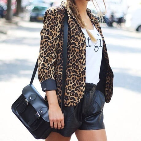 Animal Print Outerwear