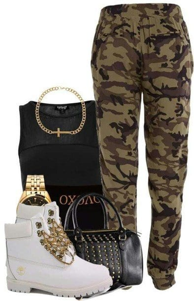 Army outfits for girls