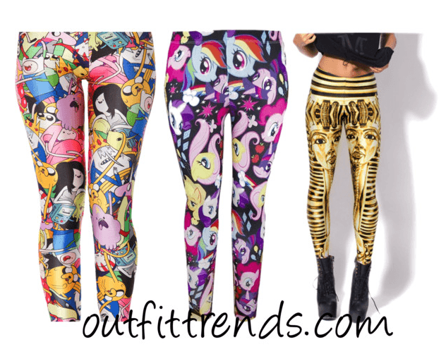 Cartoons Printed Leggings