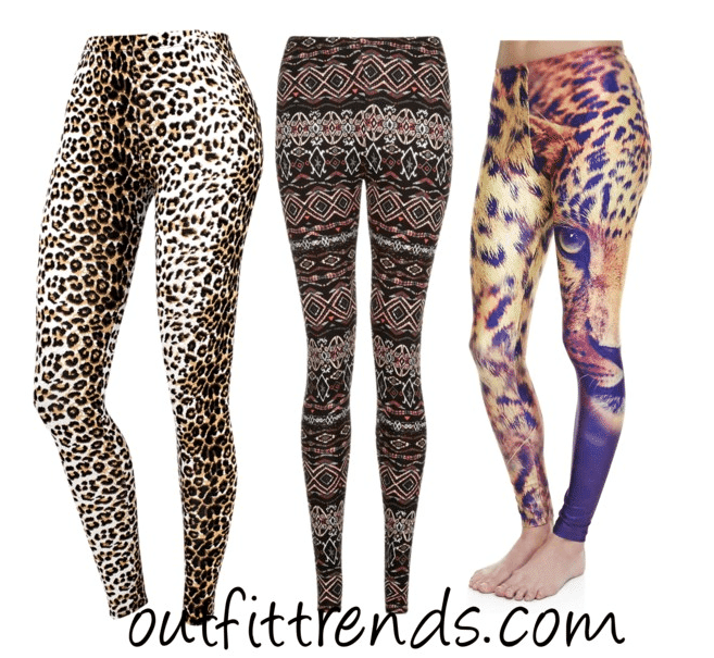 Cheetah Printed Leggings