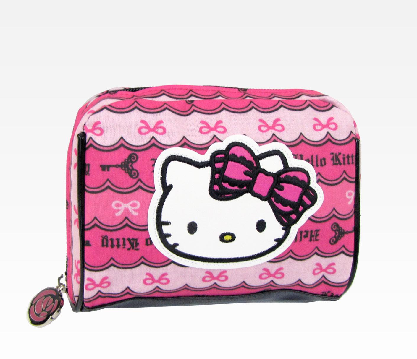 Cool-Cosmetic-bags-for-teenage-girls 10 Cute Hello kitty Makeup Bags You must Have