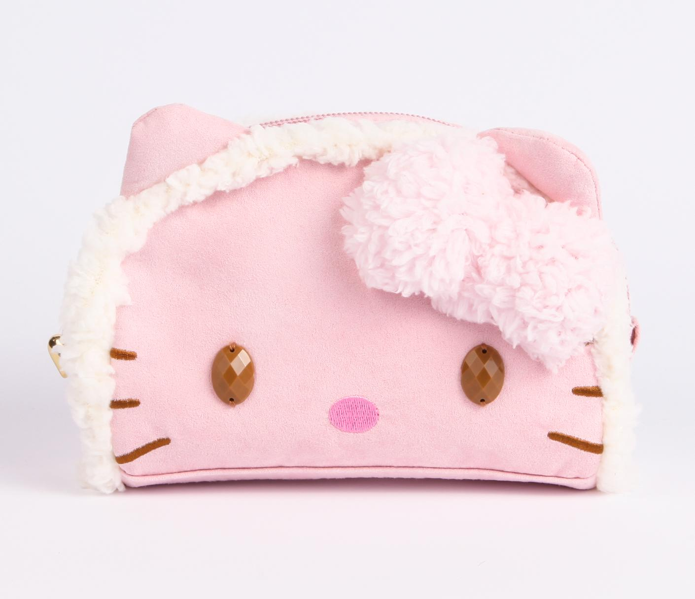 Cool-Hello-Kitty-Pouch 10 Cute Hello kitty Makeup Bags You must Have