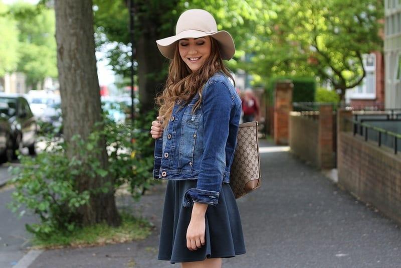 Denim Jackets with Skirt