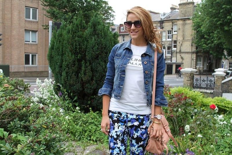 Denim-jackets-Fashion-Ideas Outfits with Denim Jacket-20 Ideas How to Wear Denim Jackets