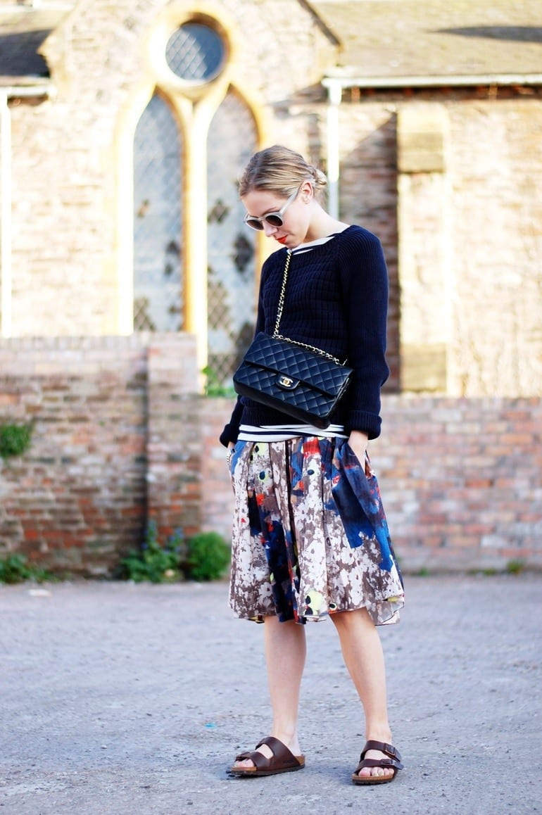 Floral-Print-Skirts-trends 22 Cute Floral Print Outfits Combinations for Spring Season