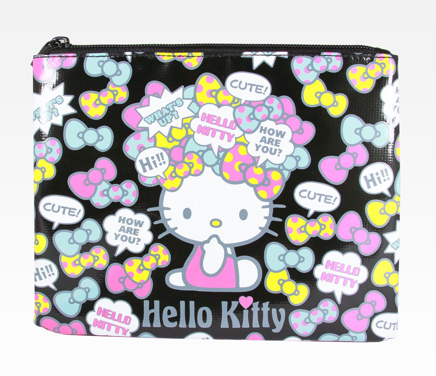 Funky-cosmetic-bags- 10 Cute Hello kitty Makeup Bags You must Have