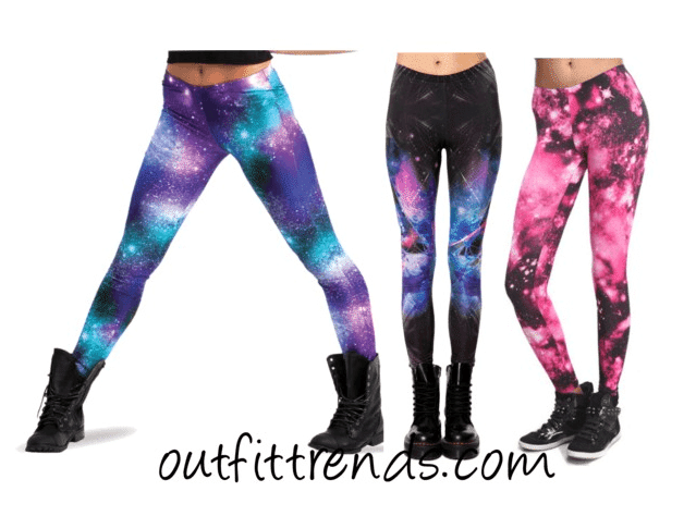 Galaxy Style Leggings