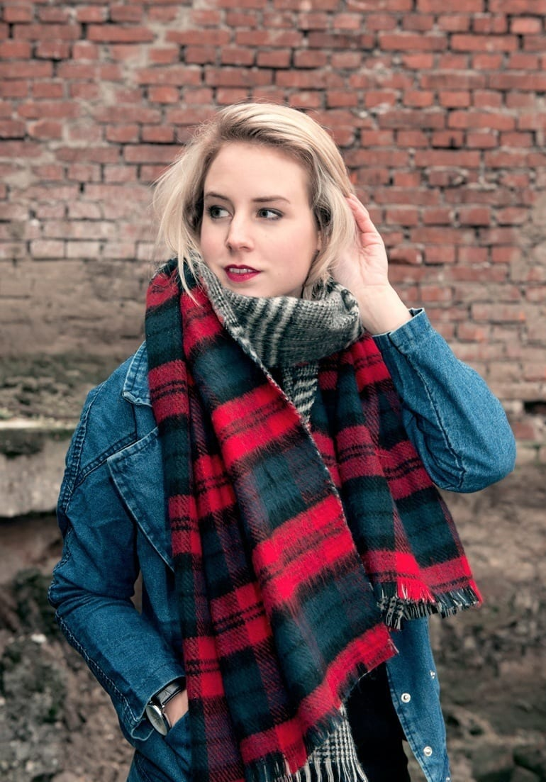 Girls Trendy look with denim jackets