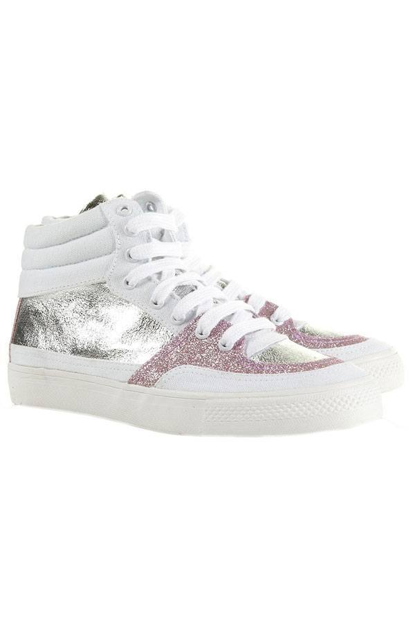 Glittering-Sneakers-for-girls Top 20 Branded Sneakers for Women 2019 - Celebrities Choice