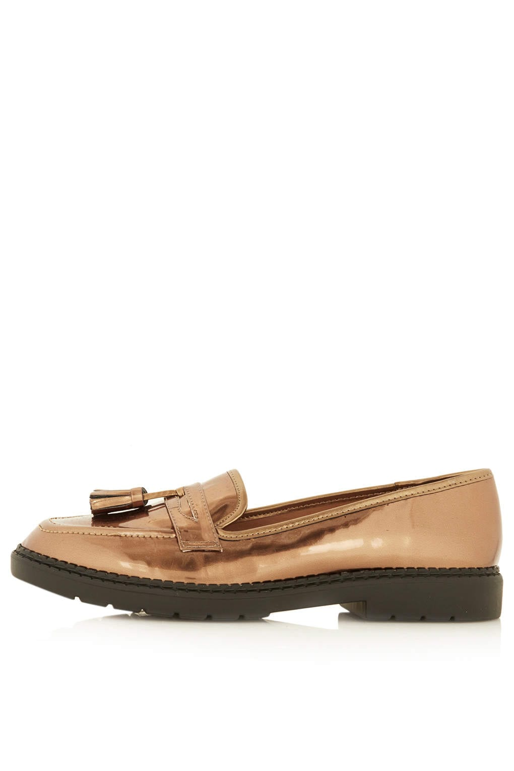 Heavy sole loafers for women