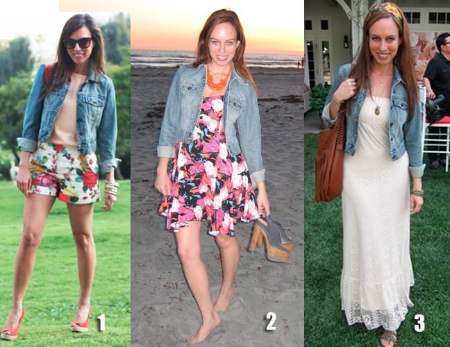 How-to-look-chic-with-Denim-Jackets Outfits with Denim Jacket-20 Ideas How to Wear Denim Jackets