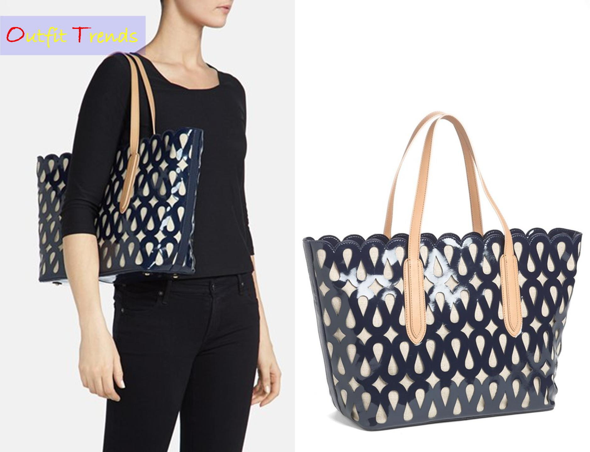 Laser-Cut-Tote 13 Most Fashionable and Stylish Tote Bags for Women