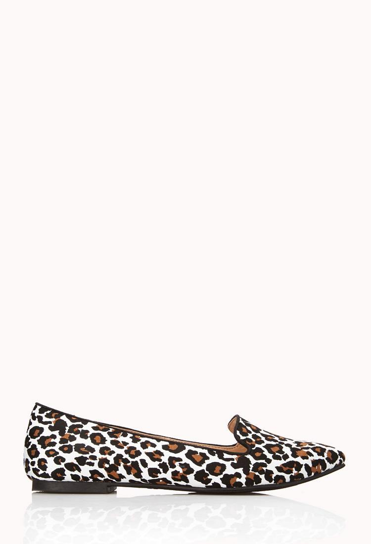 Leopard Print Flats for women