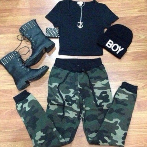 Military-Style-fashion 16 Popular Military Inspired Outfits Fashion Ideas For Women