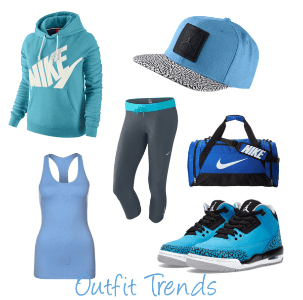 Nike-women-gym-outfits 10 Super Cool Gym Outfits for Women- Workout Clothes