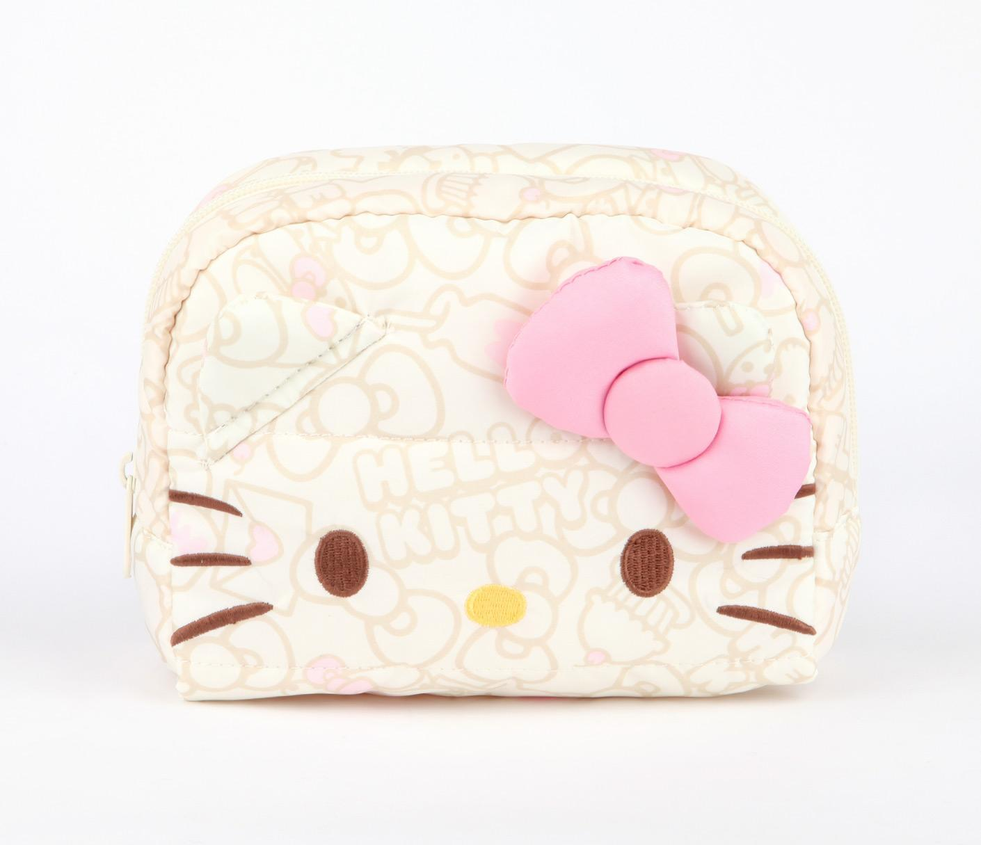 Pink-cosmetic-bags 10 Cute Hello kitty Makeup Bags You must Have